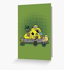 Banana The Hutt Greeting Card