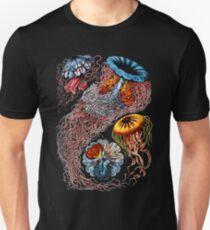 Vintage Jellyfish by Ernst Haeckel T-Shirt