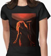 Shakira Painting Womens Fitted T-Shirt