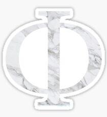 Phi-marble Sticker