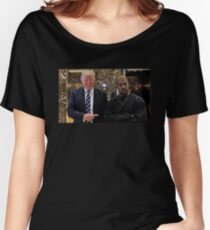 Trump & Kanye Women's Relaxed Fit T-Shirt