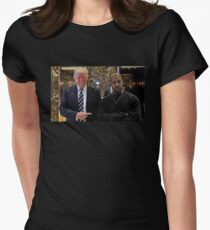 Trump & Kanye Women's Fitted T-Shirt
