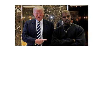 Trump & Kanye by notsky