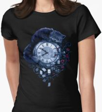 Time in Wonderland Women's Fitted T-Shirt