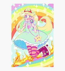 Magical Girl Photographic Print