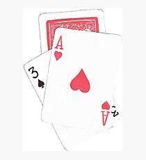 Card Trick Photographic Print