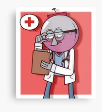 Calling Dr. Benson Metal Print