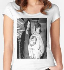 Keanu & River Women's Fitted Scoop T-Shirt