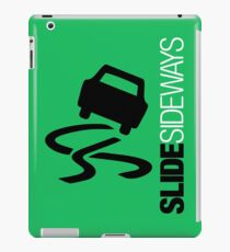 Slide Sideways (7) iPad Case/Skin
