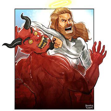 Christ Hero by michaelpalin