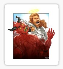 Christ Hero Sticker