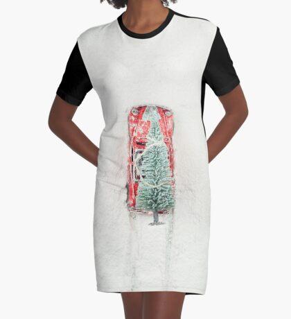 Heiligabend in Eile T-Shirt Kleid