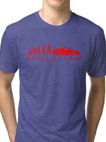 Evolution of Pilot (4) Tri-blend T-Shirt