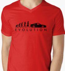 Evolution of Pilot (5) Men's V-Neck T-Shirt