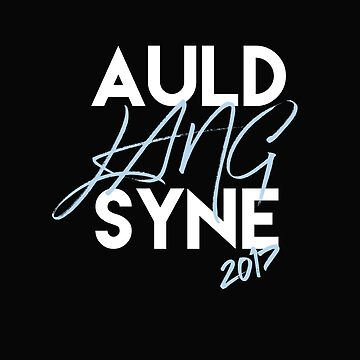 Auld Lang Syne Happy New Year 2017 by smm2276