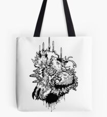 Game of Thrones House Fight Tote Bag