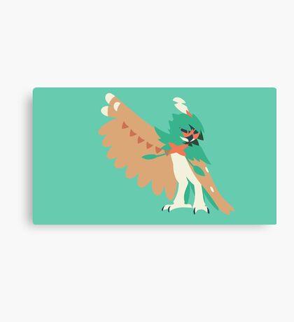 Minimalist Pokemon Decidueye Canvas Print