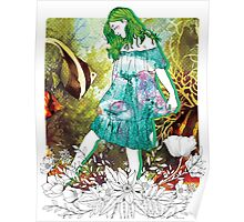 Girl's Diary Collection - Water Poster