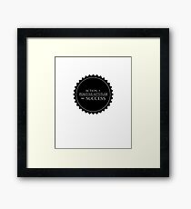 Success Formula  Framed Print
