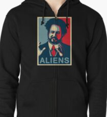 Ancient Aliens Giorgio A. Tsoukalos Zipped Hoodie
