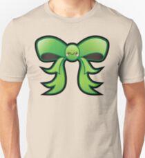Cute Green Kawaii Bow Unisex T-Shirt
