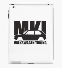 Volkswagen Golf MK1 Tuning iPad Case/Skin