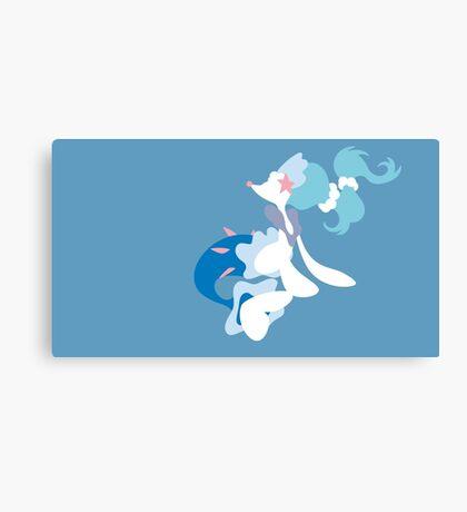 Minimalist Pokemon Primarina Canvas Print