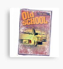 Old school low crew Metal Print