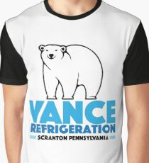 The Office Bob Vance Refrigeration Graphic T-Shirt