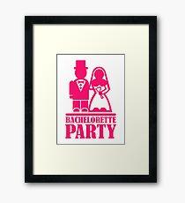 Bachelorette Party Framed Print