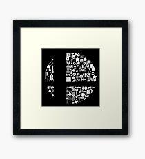 Super Smash Items Framed Print