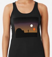 Der doppelte Sonnenuntergang ... Tanktop für Frauen