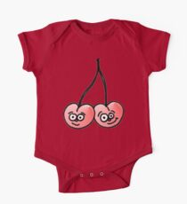 Happy, Connected Twin Cherries Kids Clothes