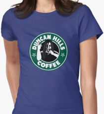 Duncan Hills Coffee Womens Fitted T-Shirt