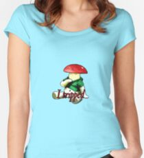 I tripped Women's Fitted Scoop T-Shirt
