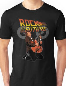 Rock to the future Unisex T-Shirt