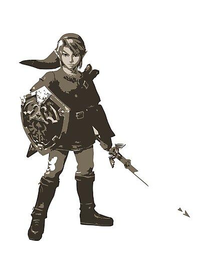 Minimalist Link from Super Smash Bros. Brawl by Himehimine