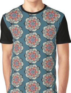 Pentacle Mandala T-shirt Graphique
