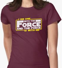 I am One With The Force And The Force Is With Me T-Shirt