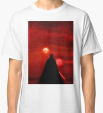 Star Wars Darth Vader Tatooine Sunset  Classic T-Shirt