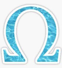 Omega-water Sticker
