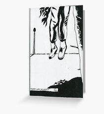 Raymond Pettibon, No Note Greeting Card