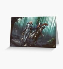 To Mount Weather Greeting Card