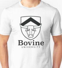The Simpsons - Bovine University   Dark Slim Fit T-Shirt