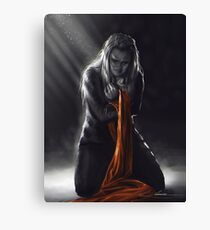 Until Our Final Journey to the Ground Canvas Print