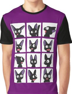 Jiji smiles Graphic T-Shirt