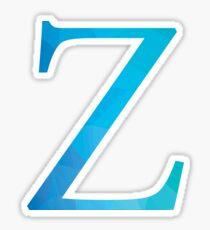 Zeta-blue Sticker