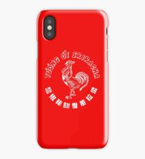 Sriracha iPhone Case