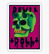 Devil Doll Sticker
