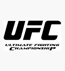 Ultimate Fighting Championship - UFC tour 2016 nm1 Photographic Print